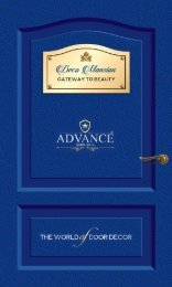 Advance Door Skin- 1.0mm