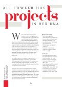Ali Fowler  - The Project Queen - Personal Magazine  - Page 5