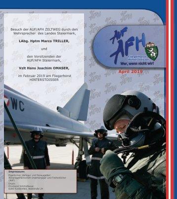 AUF/AFH Zeltweg informiert 2_2019