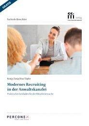 Modernes Recruiting in der Anwaltskanzlei - Praktischer Leitfaden für die Mitarbeitersuche