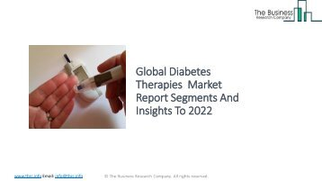 Global Diabetes Therapies Market Report Insights 2022