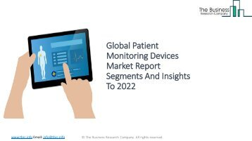 Global Patient Monitoring Devices Market Report Insights To 2022