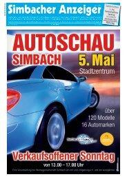01.05.2019 Simbacher Anzeiger