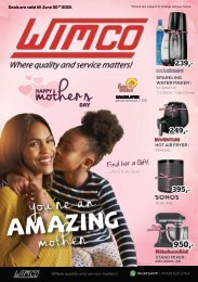 WIMCO Mother's Day Folder 2019