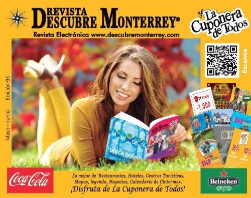 Descubre Monterrey Edición 93 (Mayo - Junio 2019)