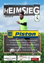 TSV Palmbach Saison 18-19 Heft 12
