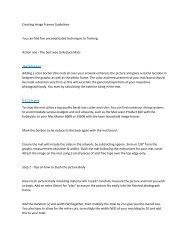 Creating Image Frames Guidelines16