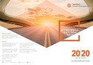 SUNIL SHARMA – INVESTMENT OUTLOOK 2019