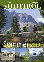 Südtirol Magazin Sommer 2019 - NZZ