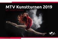 MTV Kunstturnen 2019 - Wettkampftermine