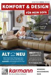 Komfort & Design für mein Sofa
