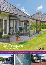 Sitzplatzüberdachungen & Carports Reisinger Fenster + Türen