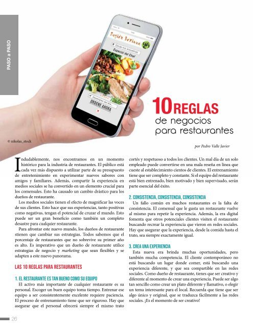 Food Business Abril 2019