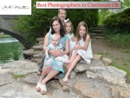 Best Photographers Cincinnati