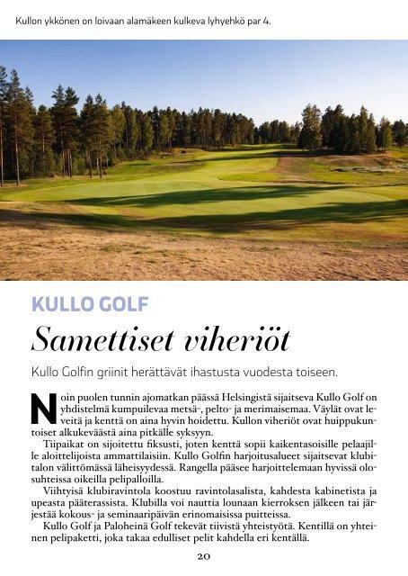 GoGolf Guide - opas parempaan golfkauteen 2019