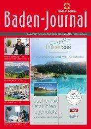 BadenJournal Mai - Juli 2019