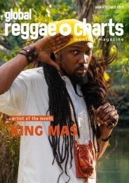 Global Reggae Charts - Issue #23 / April 2019