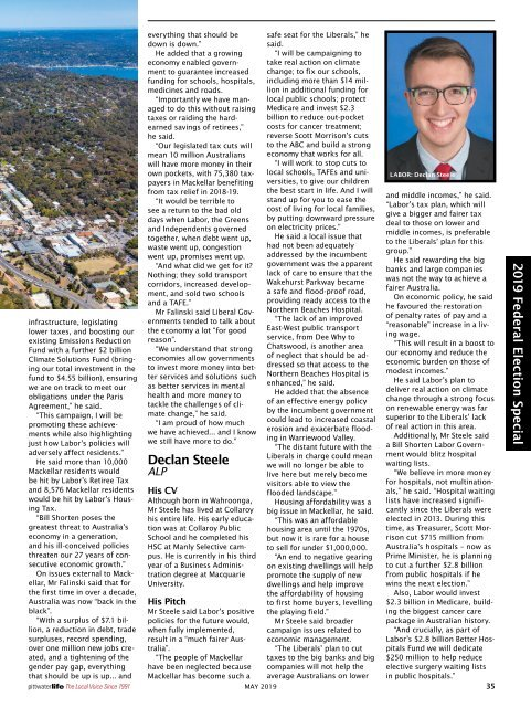 Pittwater Life May 2019 Issue
