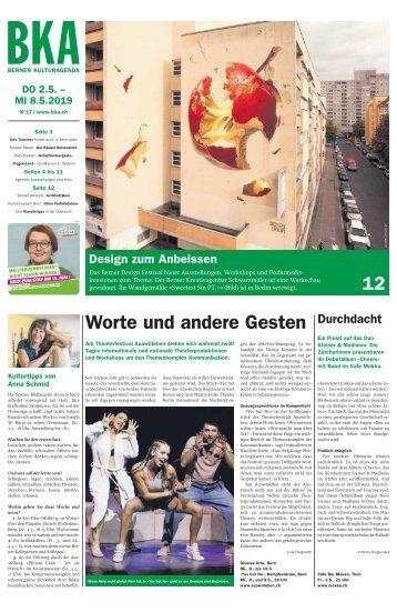 Berner Kulturagenda N°17