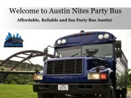 Party Bus Rental Austin