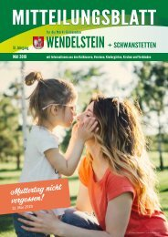 Wendelstein + Schwanstetten Mai 2019