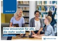Jahrbuch der FernUniversität 2018