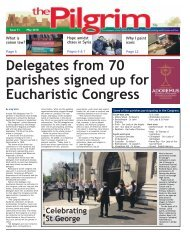Issue 71 - The Pilgrim - May 2018 - The newspaper of the Archdiocese of Southwark