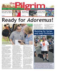 Issue 74 - The Pilgrim - August 2018 - The newspaper of the Archdiocese of Southwark