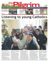 Issue 75 - The Pilgrim - September 2018 - The newspaper of the Archdiocese of Southwark