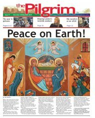Issue 77 - The Pilgrim - December 2018 / January 2019  - The newspaper of the Archdiocese of Southwark