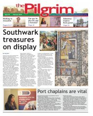 Issue 78 - The Pilgrim - February 2019 - The newspaper of the Archdiocese of Southwark