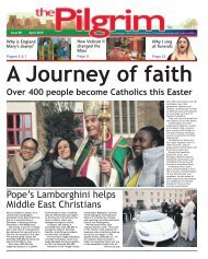 Issue 80 - The Pilgrim - April 2019 - The newspaper of the Archdiocese of Southwark