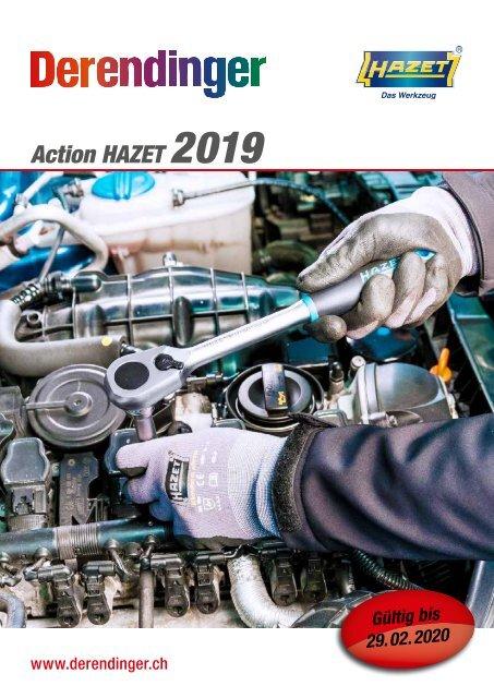 3420-1 HAZET Spezial-Einsatz Ölablass Kunststoff-Schraube an FORD
