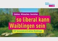 FDP-Fraktion im Gemeinderat Waiblingen 2014-2019
