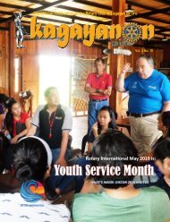 May 2019 RCCDO Kagayanon Bulletin