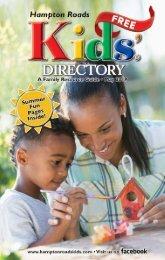 Hampton Roads Kids' Directory May 2018  Issue