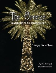 The Breeze Magazine of the Lowcountry, JANUARY 2019