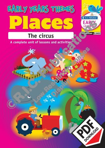 RIC-20967 Early years Places - The Circus