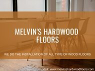 Baseboard and Stairwell Installation Service - Melvin's Hardwood Floors