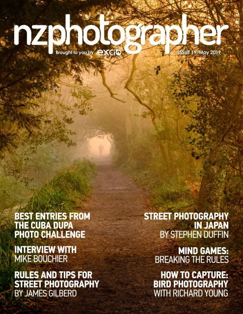 NZPhotographer Issue 19, May 2019