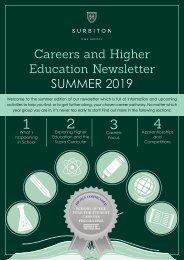 Careers Newsletter Summer Term 2019