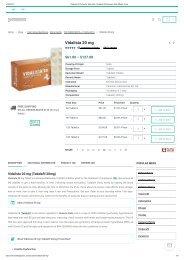 Vidalista 20 Online for Sale USA _ Vidalista 20 Reviews, Side Effects, Price
