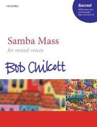 Chilcott Samba Mass SATB