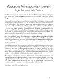 Broschüre: Völkische Verbindungen Kappen! - Gegen Faschismus jeder Couleur! - Page 3