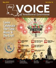 The Voice of Southwest Louisiana May 2019 Issue