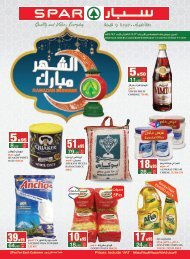 SPAR flyer from 1to7 May 2019