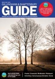 Gillingham & Shaftesbury Guide May