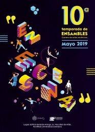 Cuadernillo 10a Temporada de Artes Escenicas