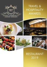 Travel & Hospitality Awards | Restaurant Winners 2019 | www.thawards.com