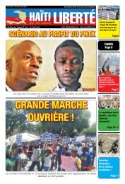 Haiti Liberte 1 Mai 2019